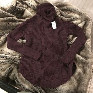 NWT Eggplant Motherhood Maternity Sweater, size M
